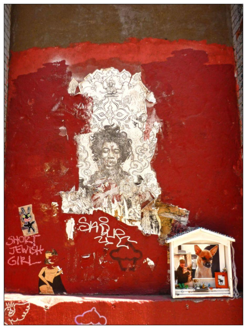 Jimmy Hendrix New York © Jean-Philippe Cazier