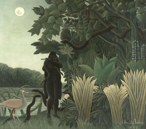 Le Douanier Rousseau, La Charmeuse de serpents (1907)