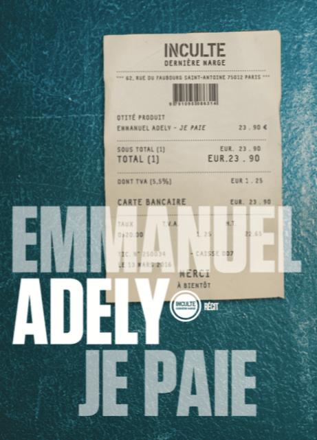 Emmanuel Adely je paie