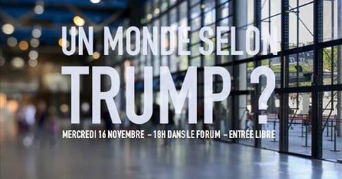 Un monde selon Trump ?