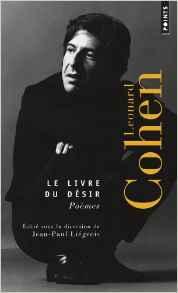 Le livre du désir Leonard Cohen