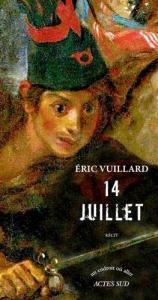 Eric Vuillard 14 juillet