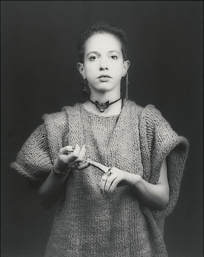 Kathy Acker par Robert Mapplethorpe