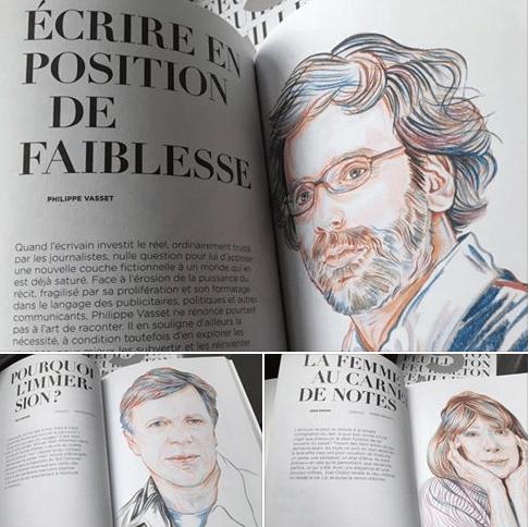 Feuilleton pour la littérature du réel (illustration Aline Zalco)