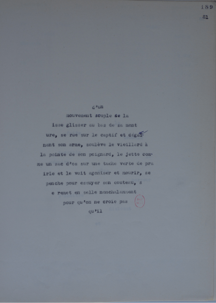 BnF, Mss., NAF 28509(14), Fuzzy sets, f. 189. © Olivier Wagner avec l'aimable autorisation d'Ariane Ollier-Malaterre
