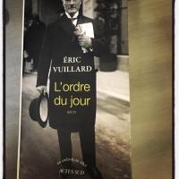 Eric Vuillard, prix Goncourt 2017 pour «L'ordre du jour»