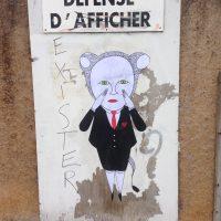 Fred le Chevalier : défense d'afficher