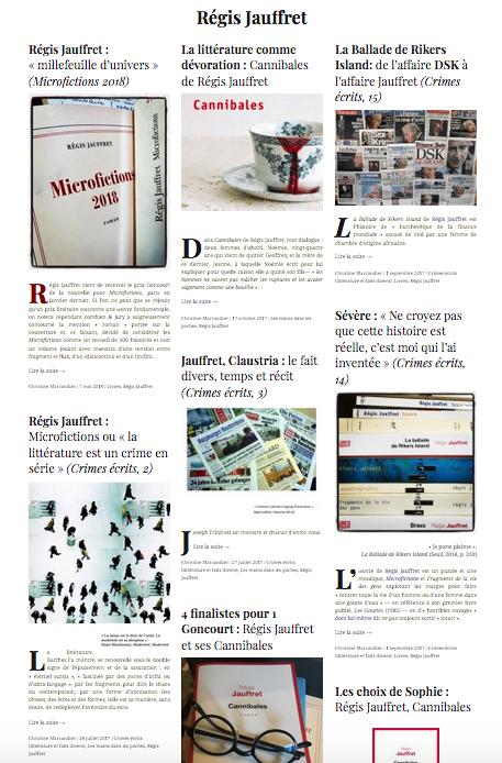 Les dossiers Diacritik (2) : Régis Jauffret