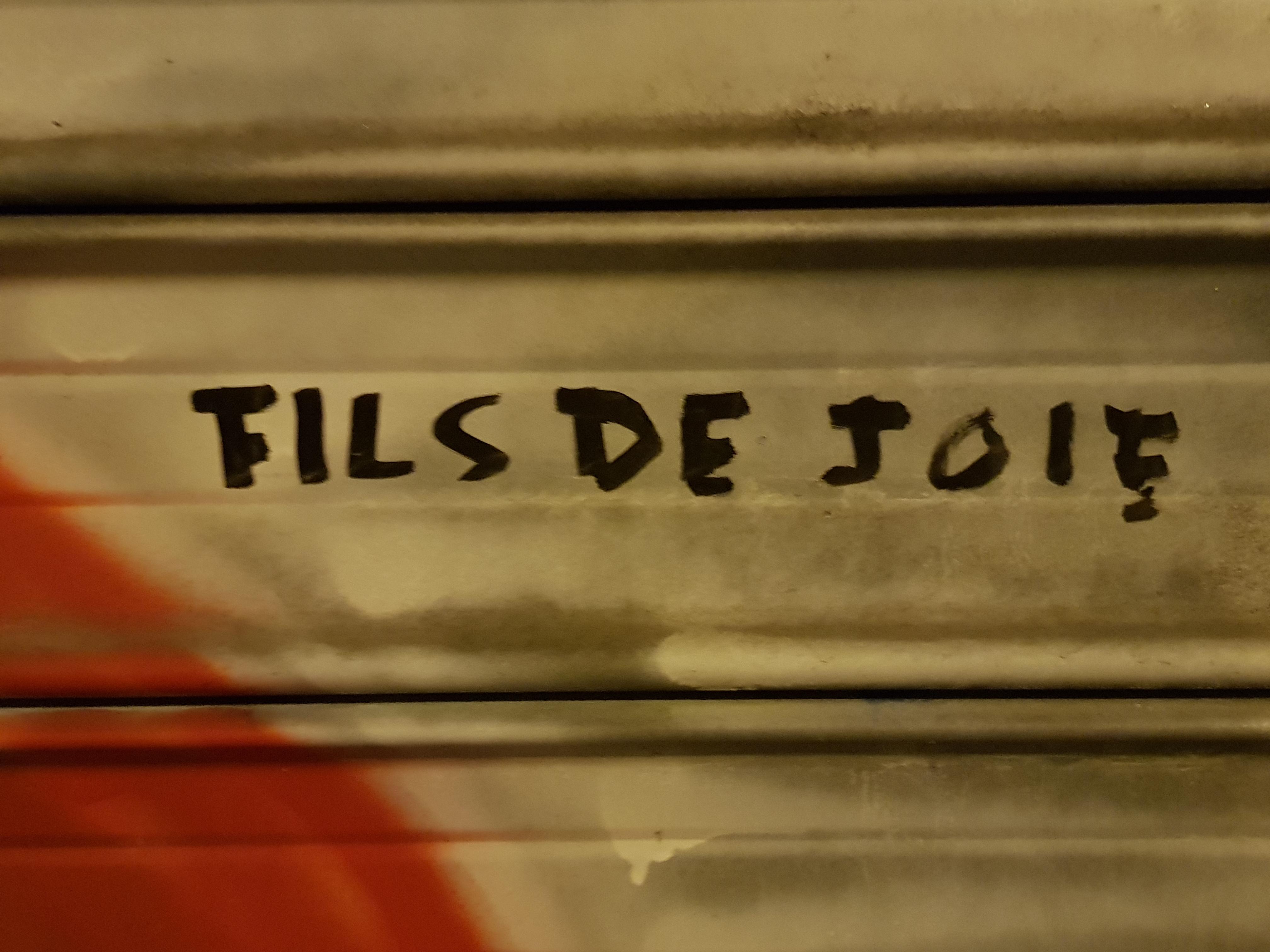 Murs murs : Fred le Chevalier