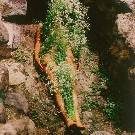 Le corps au-delà : Ana Mendieta (exposition au Jeu de Paume)