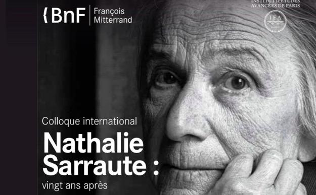 Colloque international «Nathalie Sarraute, 20 ans après» ces jeudi et vendredi