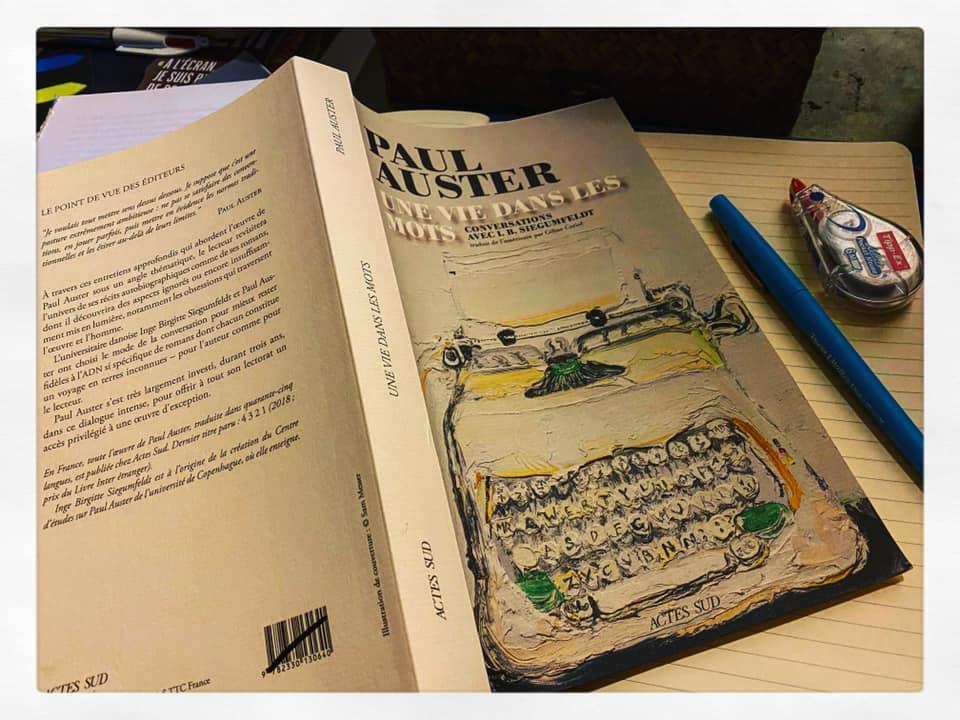 Paul Auster: «Écrire un roman, c'est être victime d'un sortilège» (Une vie dans les mots)