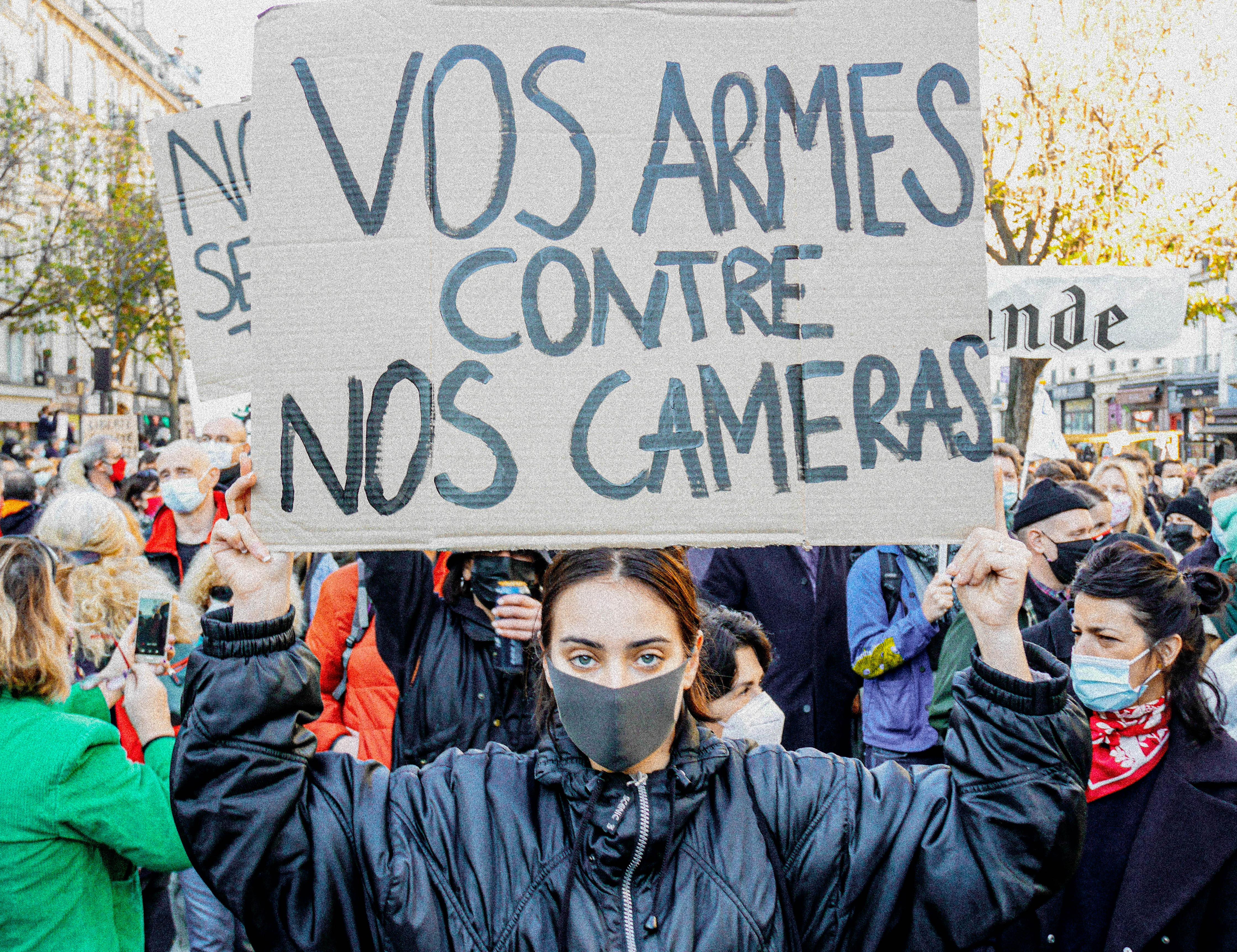 Marche des libertés contre les lois liberticides (Paris, 28 novembre 2020)