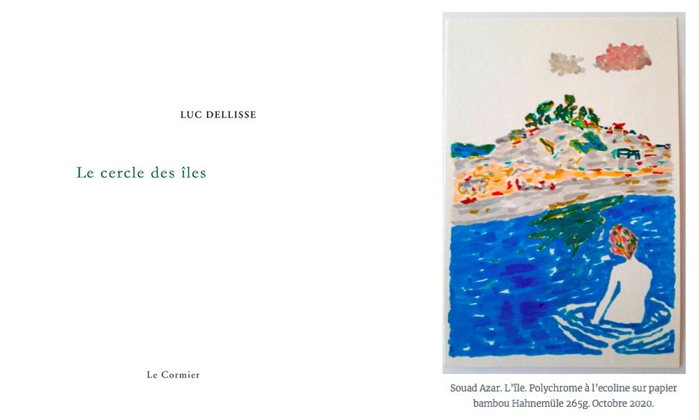 Luc Dellisse : La poésie lectrice de l'île (Le cercle des îles)