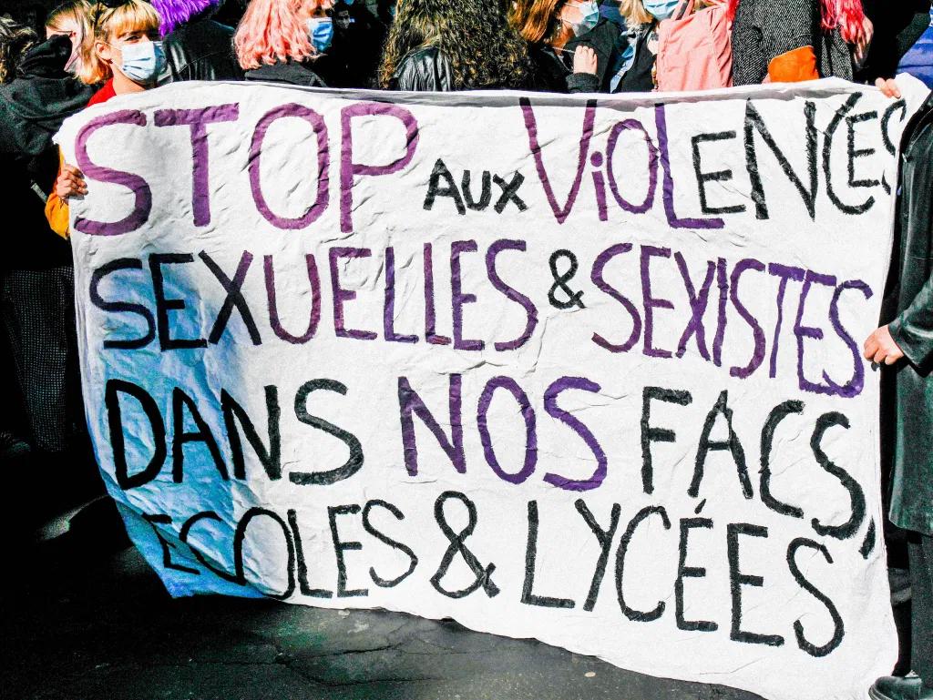 Marche contre les violences sexuelles et sexistes (Paris, 6 mars 2021)