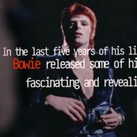 David Bowie, les cinq dernières années (Arte)