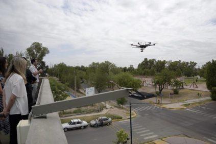 drone seguridad mza