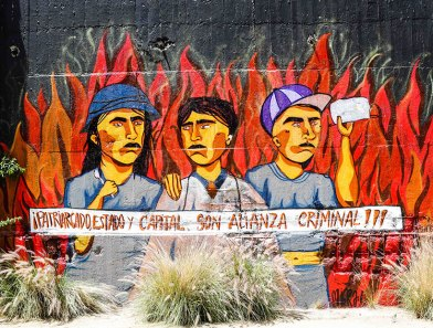 grafitis en chile
