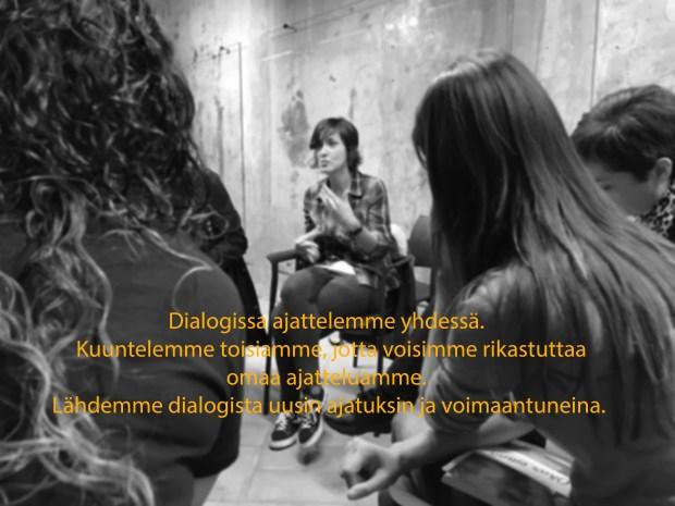 Dialogi on yhdessä ajattelua
