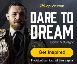 24Option Conor McGregor