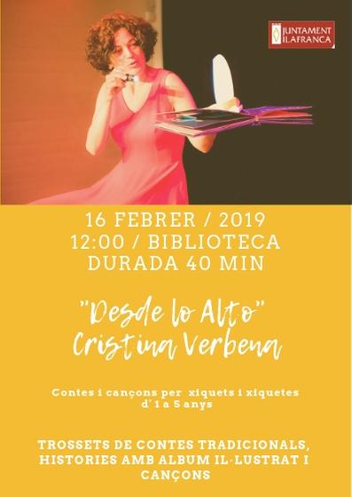 Contes i cançons infantils a la Biblioteca de Vilafranca