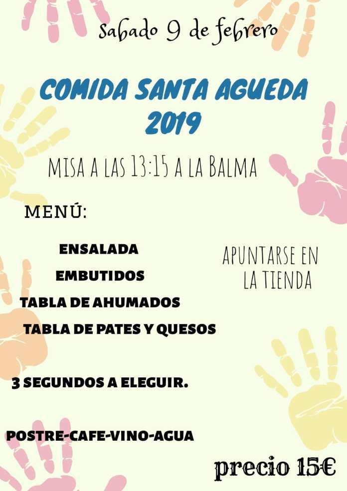 Sorita celebra Santa Àgueda