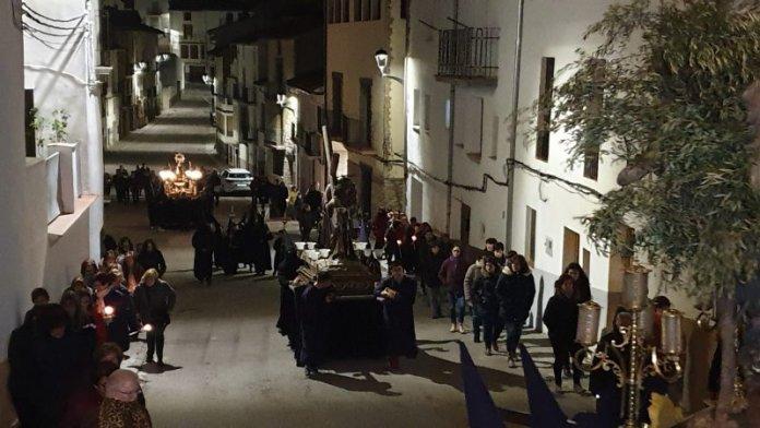 Processó de dimecres Sant Vilafranca