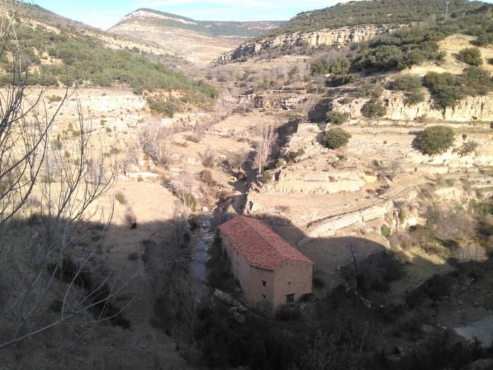 Molino en el río Cantavieja (2)(1)