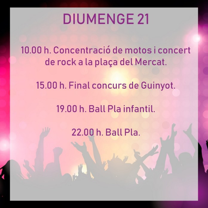 FESTES TÍRIG DIUMENGE 21