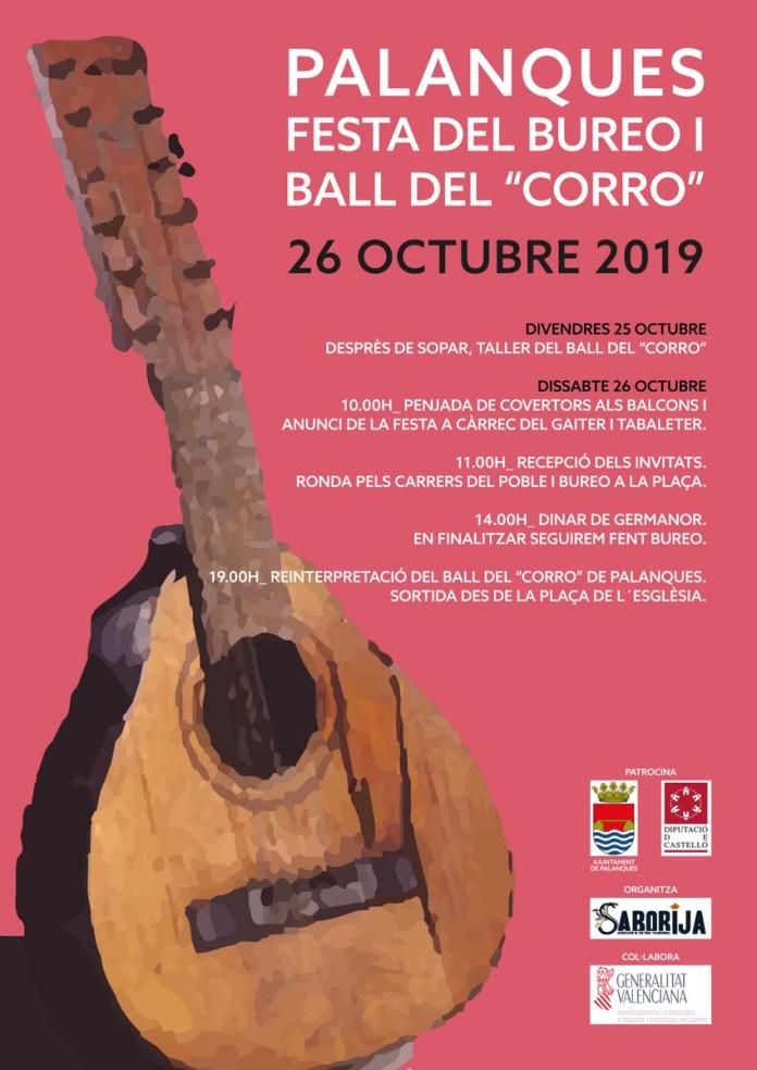 FESTA DEL BUREO I BALL DEL CORRO 2019 PALANQUES