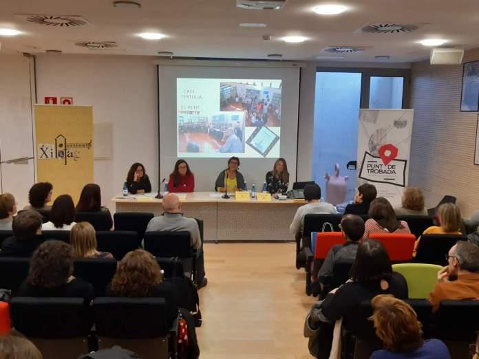 Participació de la Biblioteca de Vilafranca al Punt de Trobada de Biblioteques