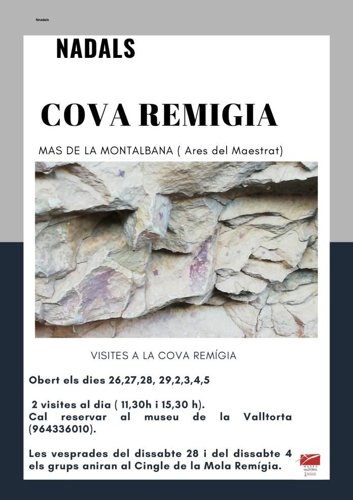Visites Cova Remigia Ares Nadal