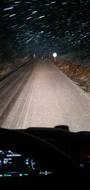 Neu a Cabestany, al terme de Vilafranca