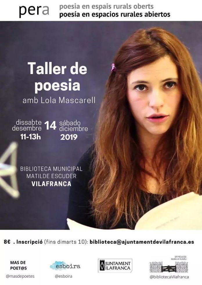 taller poesia