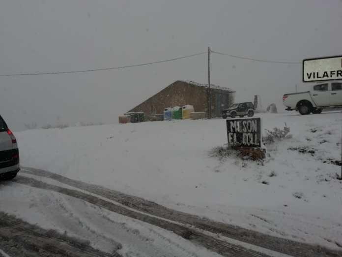 Neu al Coll d'Ares
