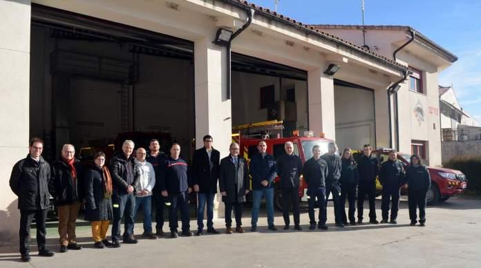 Visita del president de la Diputació a Morella