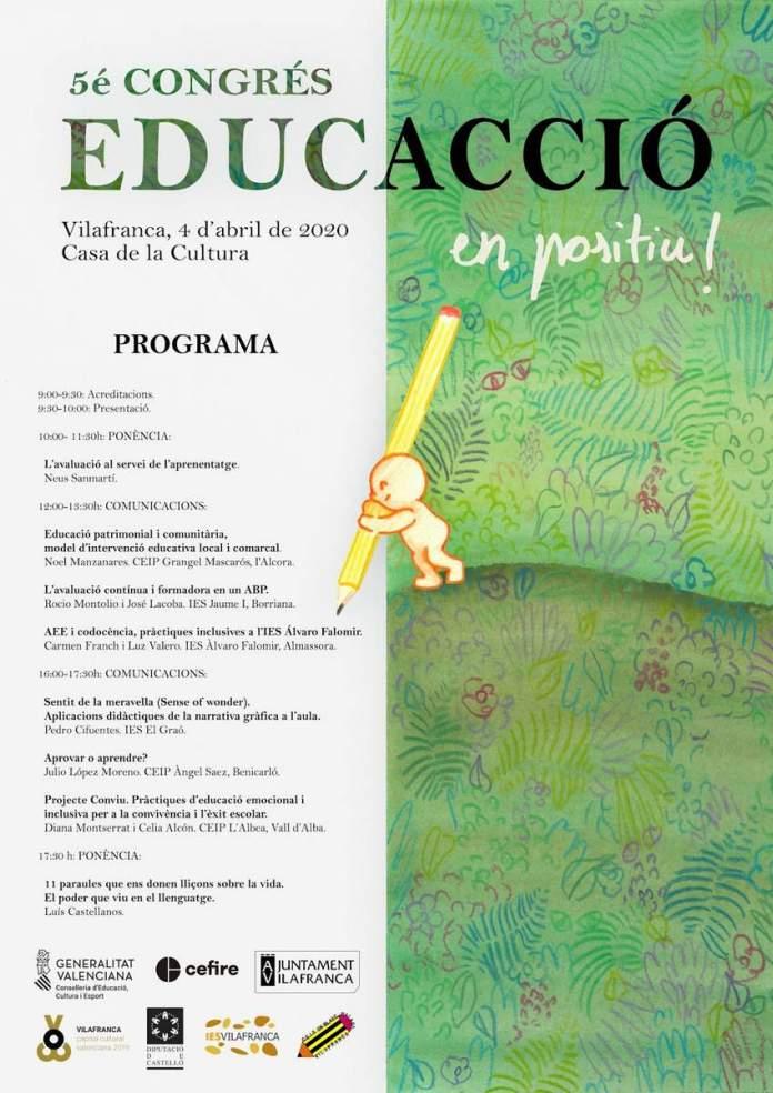 Cartell EducAcció 2020