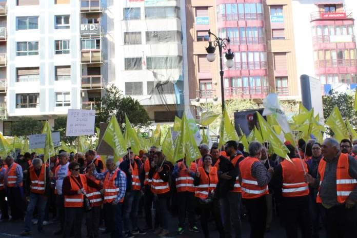 Manifestació de la Unió de Llauradors