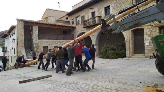 Preparatius de Sant Antoni a Portell