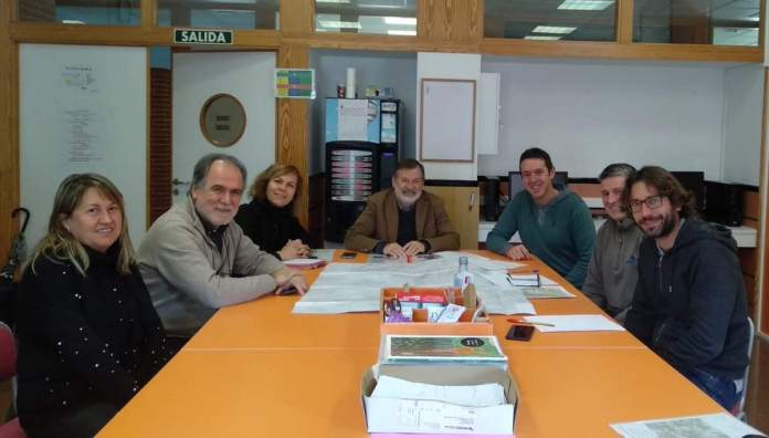 Reunió sobre ampliació formativa a l'IES Vilafranca