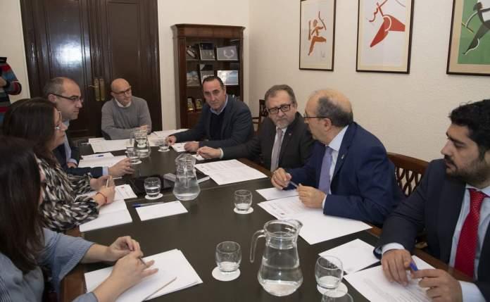 Visita a Castelló president Diputació de Terol