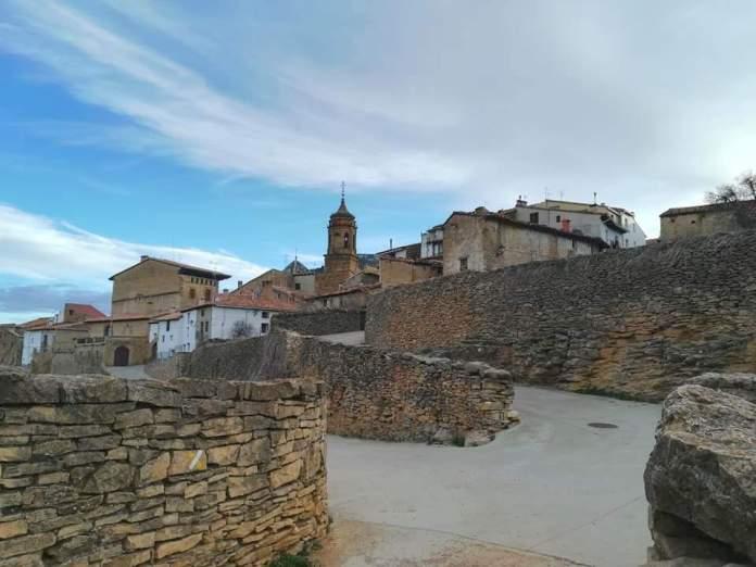 Vista de La Iglesuela del Cid