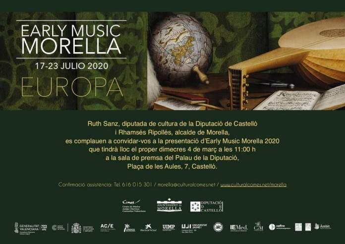 Presentació Early Music Morella