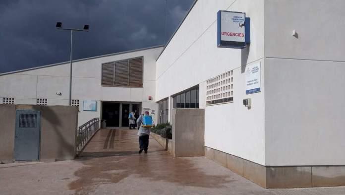 Desinfecció de carrers pel coronavirus a Vilafranca