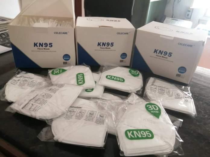 Mascaretes homologades KN95/FFP2 a Benassal