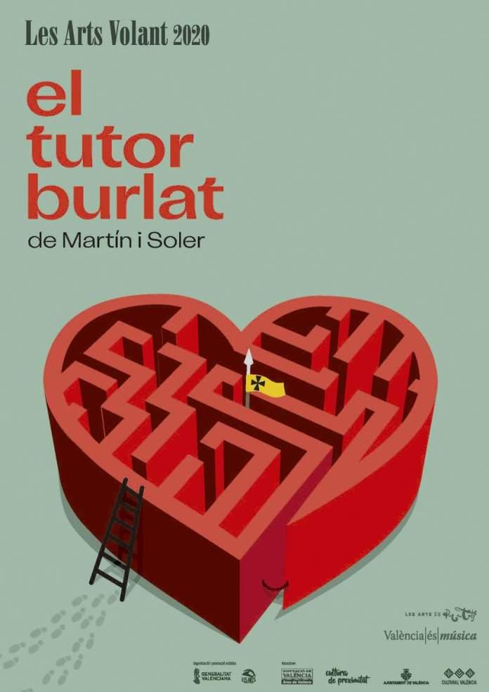 El tutor burlat, cartell