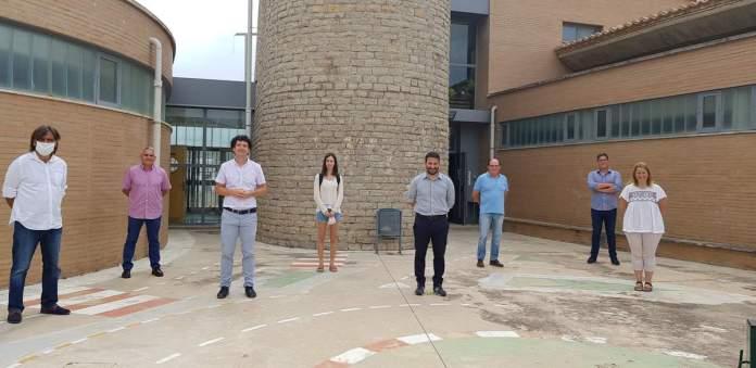 Visita de Marzà al futur institut-escola