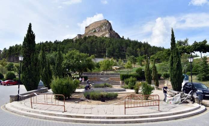 Treballs jardí del record a Morella