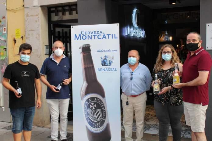 Presentació de la cervesa Montcàtil
