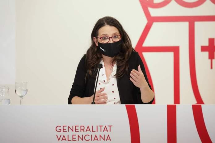 Mònica Oltra, vicepresidenta i portaveu del Consell